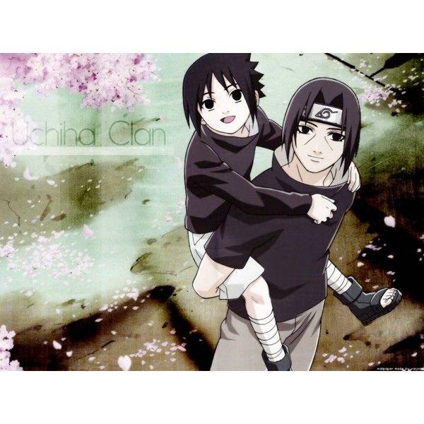 sasuke and itachi ❤ liked on Polyvore featuring anime and naruto
