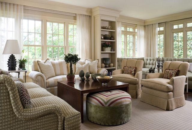 Living Rooms Traditional Living Room New York By Lauren Ostrow Interio Traditional Design Living Room Living Room Decor Traditional Classic Living Room