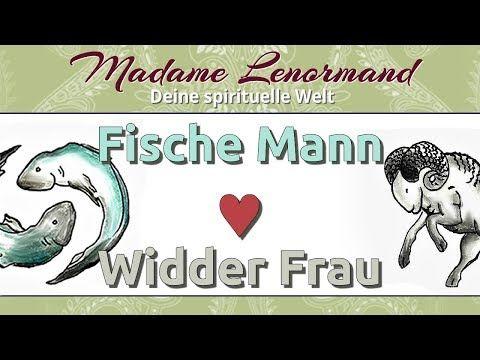 Fische Mann & Widder Frau - YouTube #Sternzeichen #