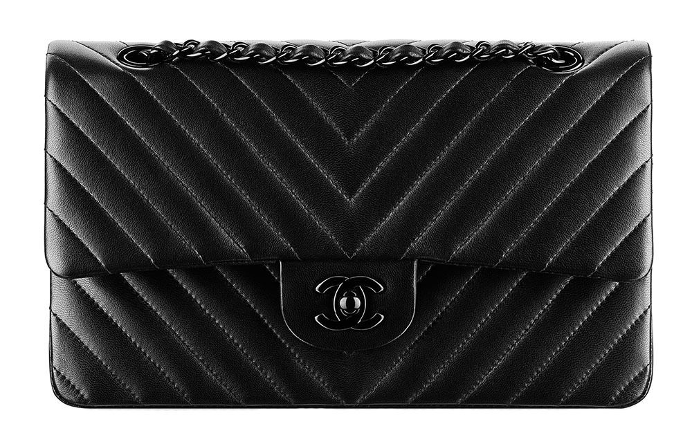 34f57b17a507e2 Bag Battles: The Chanel Classic Flap Bag vs. the Chanel 11.12 Flap Bag