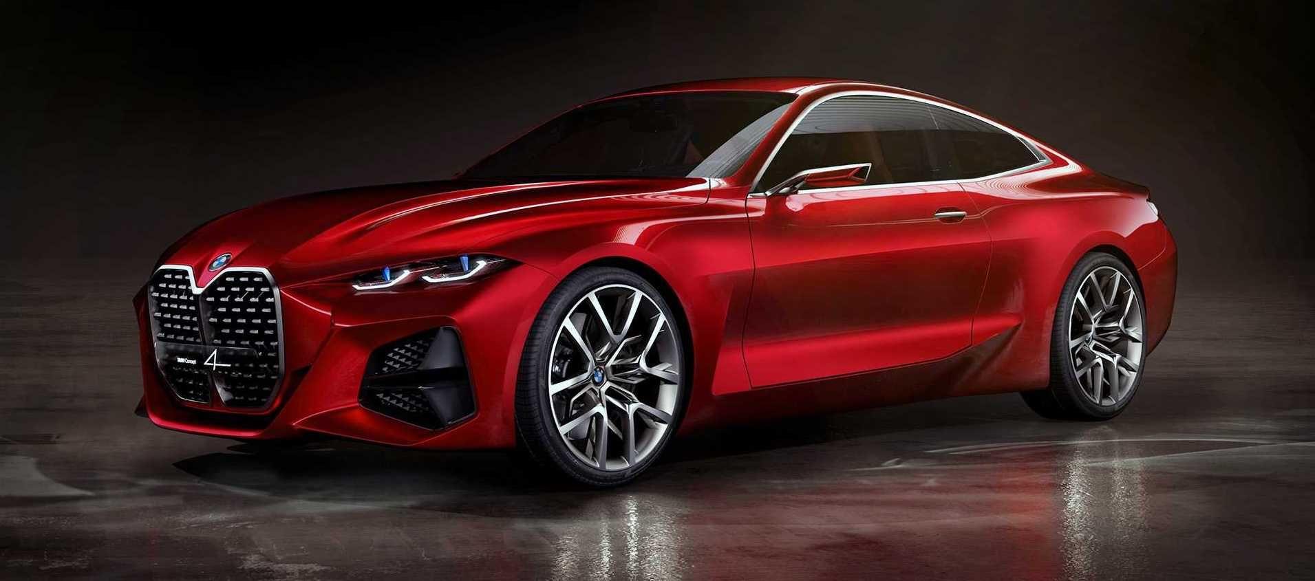 BMW Concept 4 la Série 4 Coupé en approche Bmw série 4