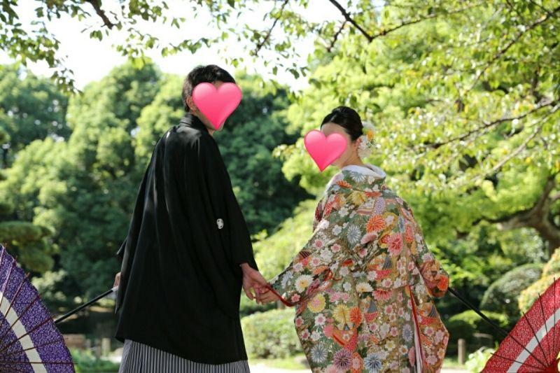 【前撮り】当日レポ~色打掛け編|ぴょこのブログ~軽井沢で結婚式!@2015年9月27日♡