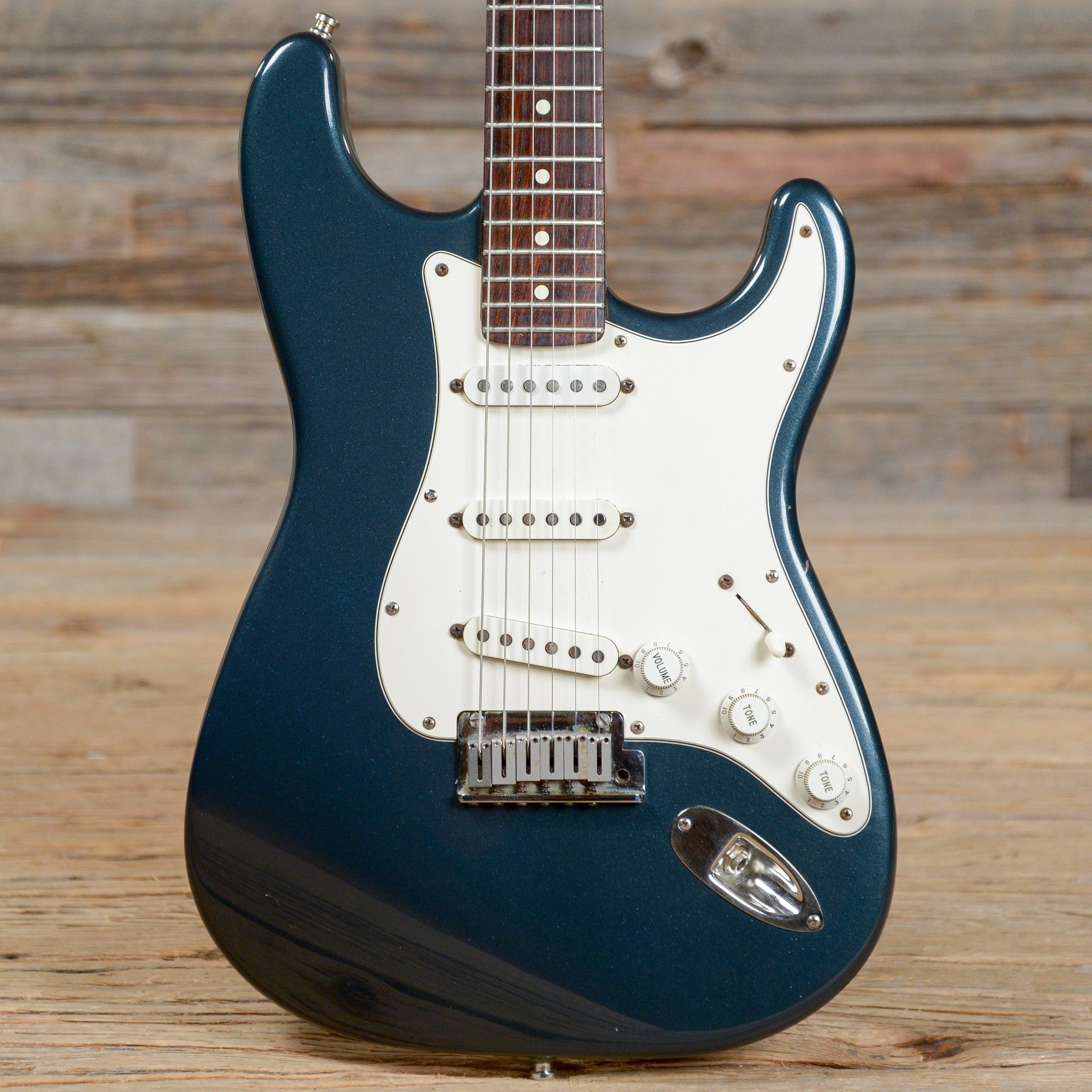 Fender Stratocaster Dark Blue Metallic RW 1989 S146