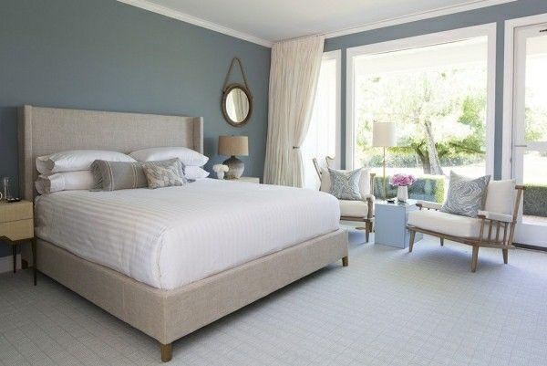 Schlafzimmer Bilder ~ Bett kopfteil schlafzimmer einrichtung nahtloses design akzentwand