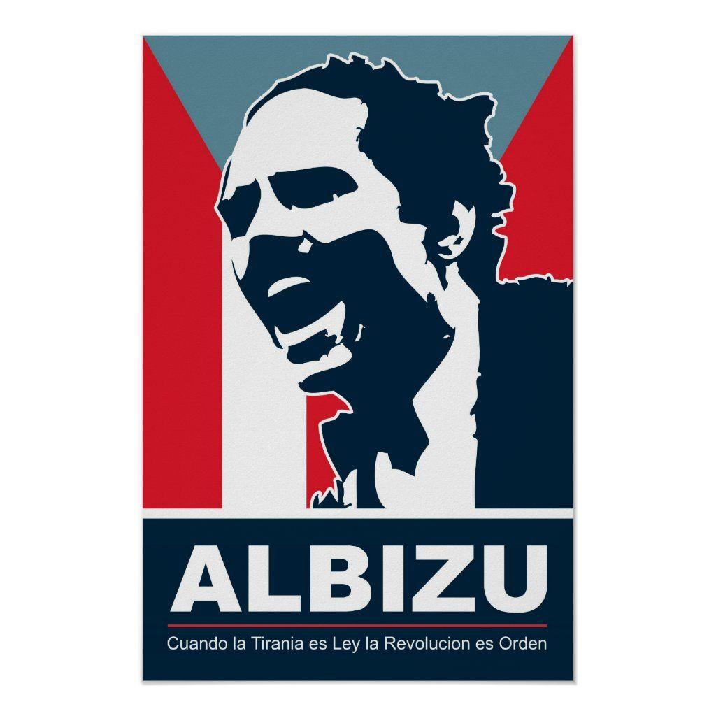 """8/"""" x 10/"""" Pedro Albizu Campos"""