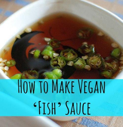 Vegetarian fish sauce saturday night dinner party for Vegetarian fish sauce