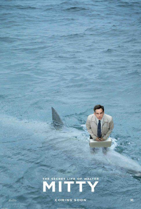 I Had A Shark Fight Walter Mitty Walter Mitty Carteles De