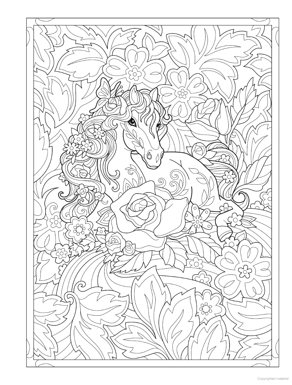 Creative Haven Dream Horses Coloring Book In 2020 Horse Coloring Books Coloring Books Horse Coloring Pages
