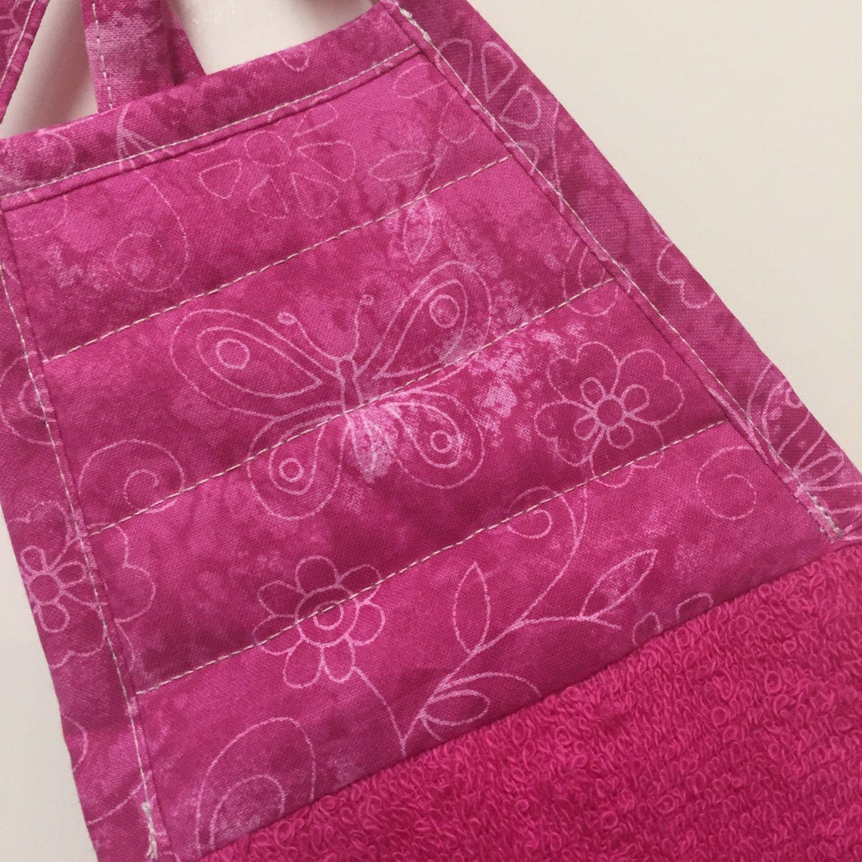 Butterfly Kitchen Towel,Pink Butterfly,Butterfly Decor,Butterfly Towel, Kitchen Decor,