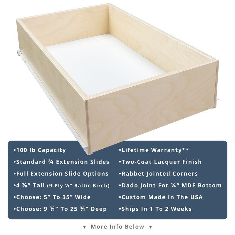 Medium Sliding Shelf Sliding shelves, Custom pantry, Shelves