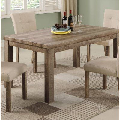 Millwood Pines Ephraim Dining Table in 2018 Products Pinterest