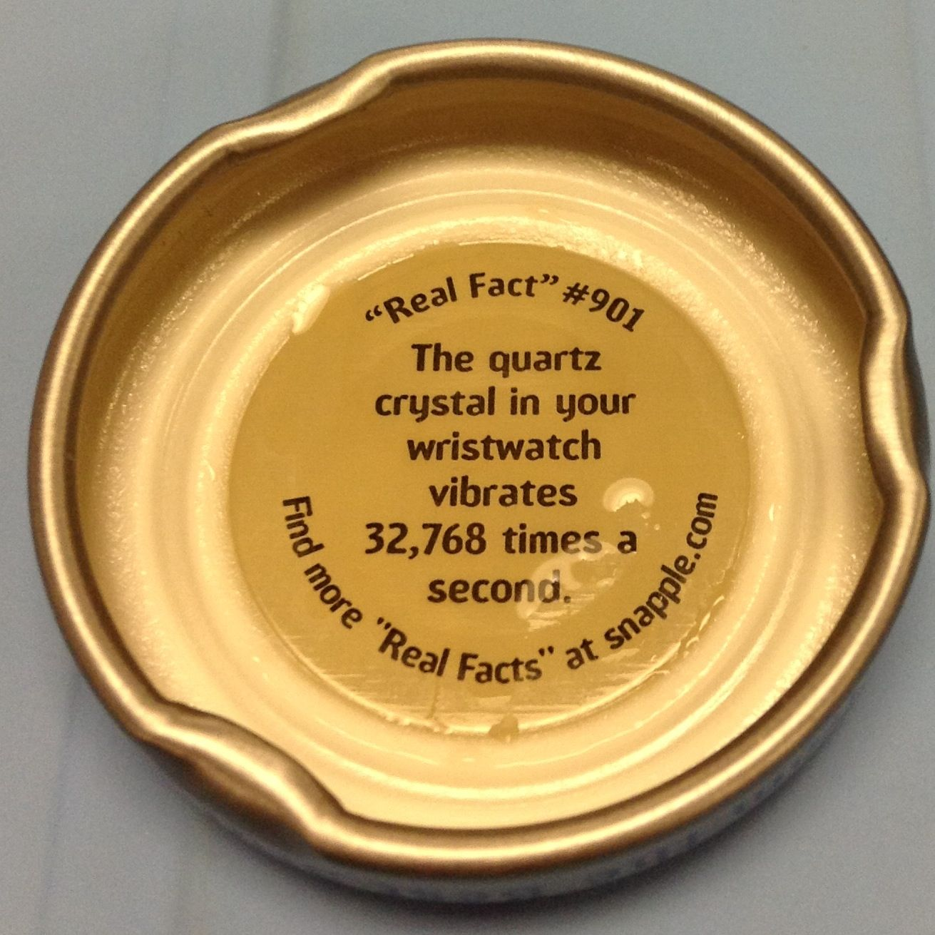 Today S Snapple Lid Real Facts Giant Jenga Pie Dish