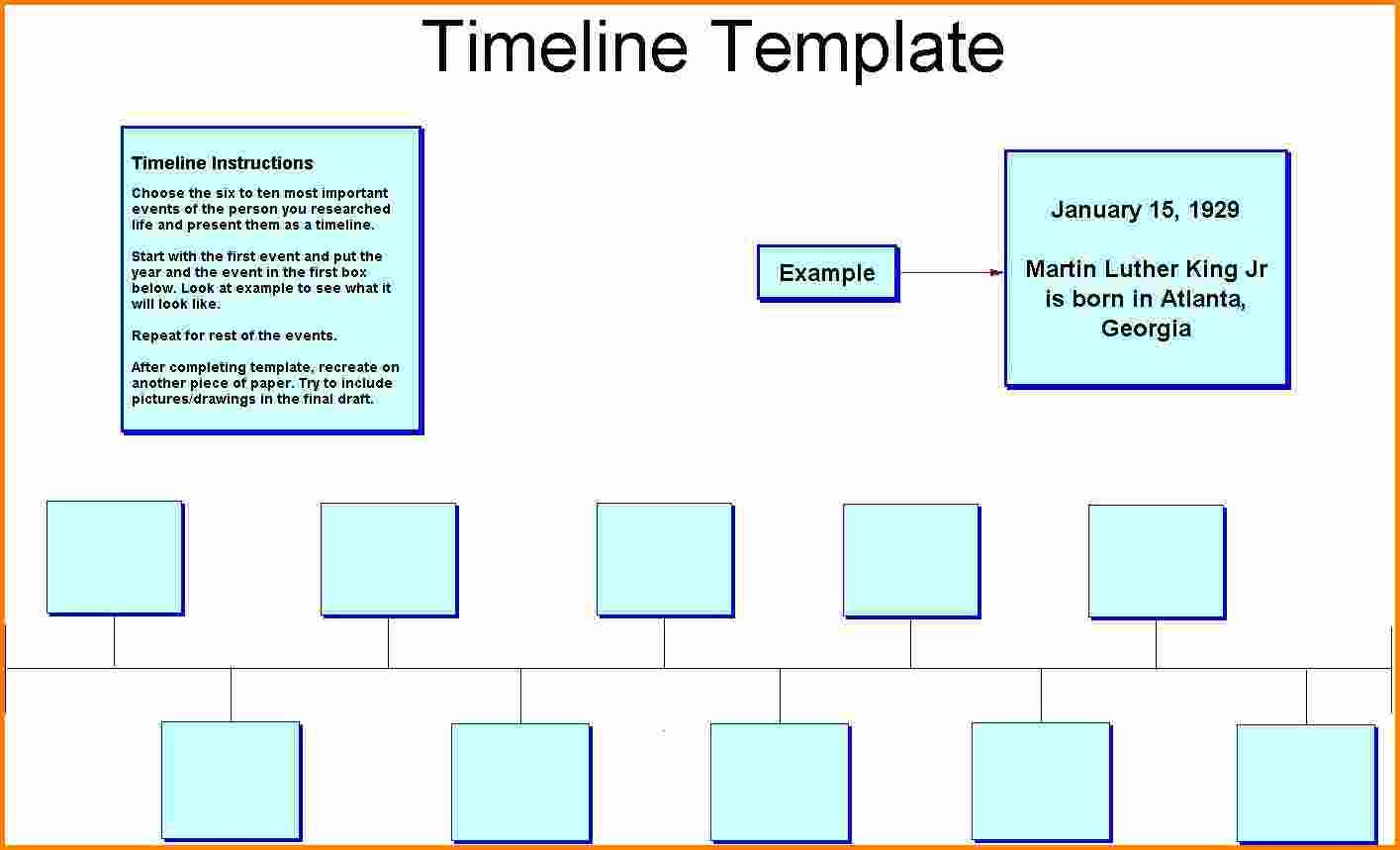 14+ timeline template for kids | cashier resume | Fun | Pinterest