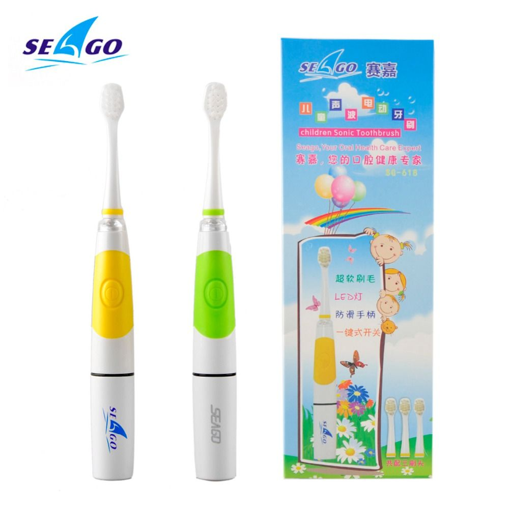 3 8 Years Portable Electric Children Toothbrush Soft Baby