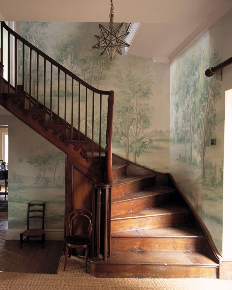 Beautiful Interior Staircase Ideas And Newel Post Designs: Cotswolds Mist Sample - $12 In 2020