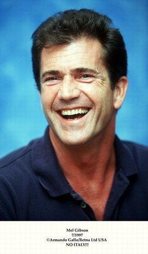 Mel Gibson - el álbum del Club de Fans