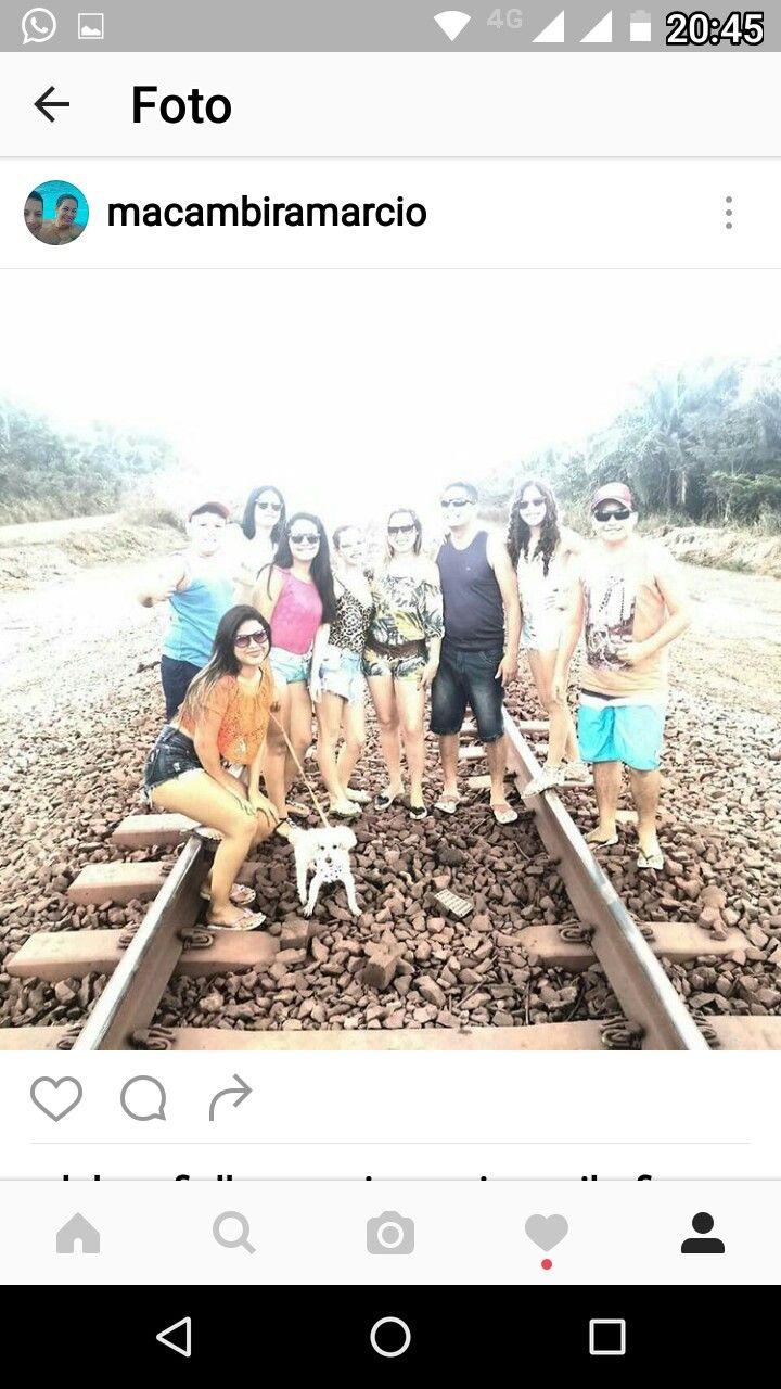 Trilho do trem que liga o Pará ao Maranhão.