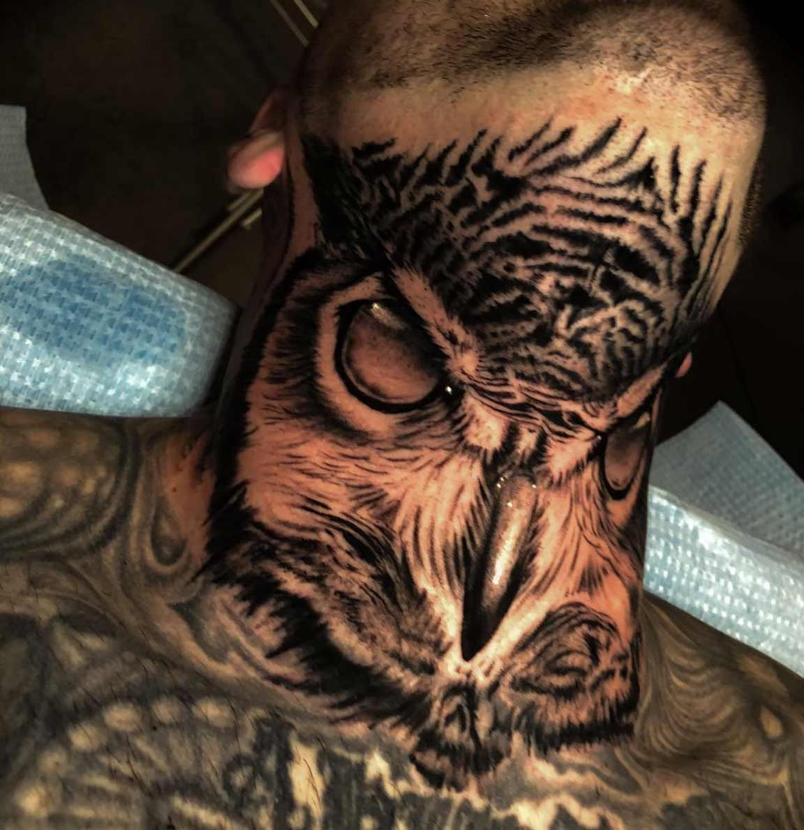 50 Incredibly Cool Neck Tattoos For Men And Women Neck Tattoo For Guys Neck Tattoo Throat Tattoo