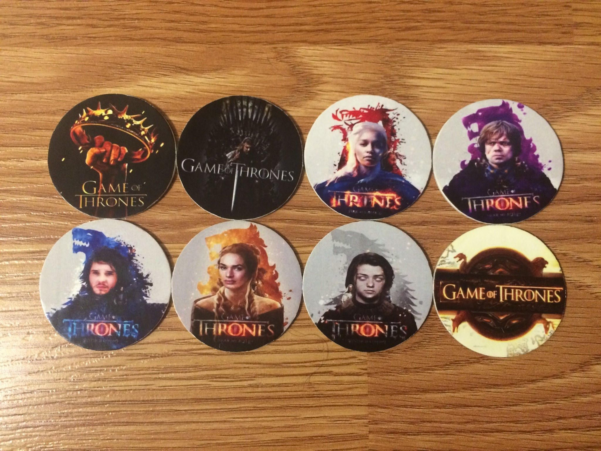 Pin by Underground Artwork on Pogs Collection | Game of
