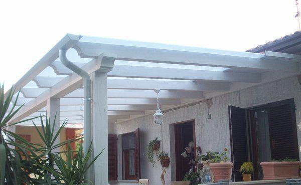 pergola bianca Pergola, Patio, Outdoor structures