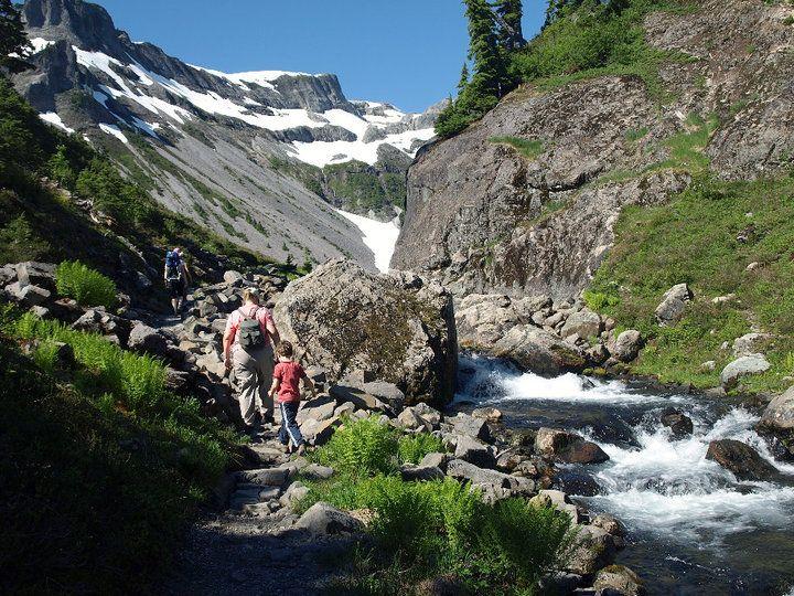 Bagley Lakes Trail, Northern Cascades, WA. Easy, family