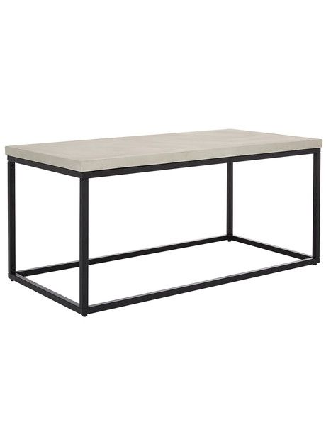 Luca Empire Concrete Coffee Table Product Photo Table Furniture