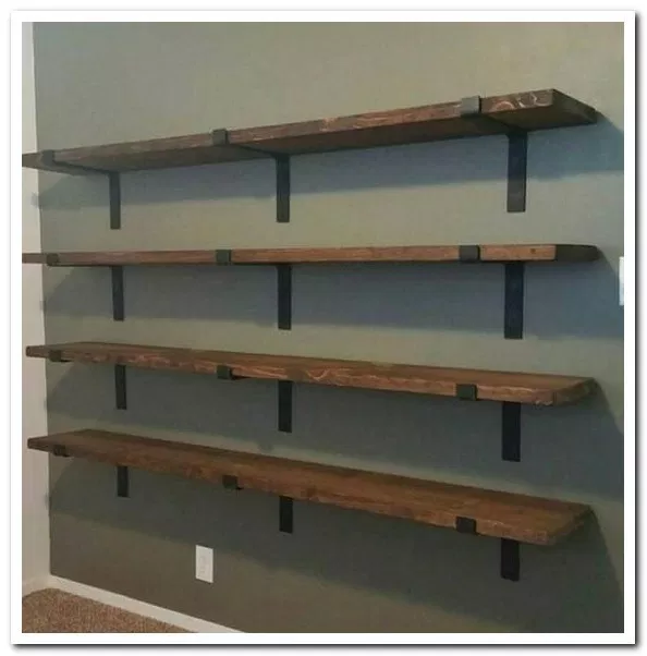 37 Outrageously Simple Diy Shoe Racks And Organizers You Ll Want To Make Today 24 Estanteria De Hierro Estanterias Metalicas Estanteria Hierro Y Madera