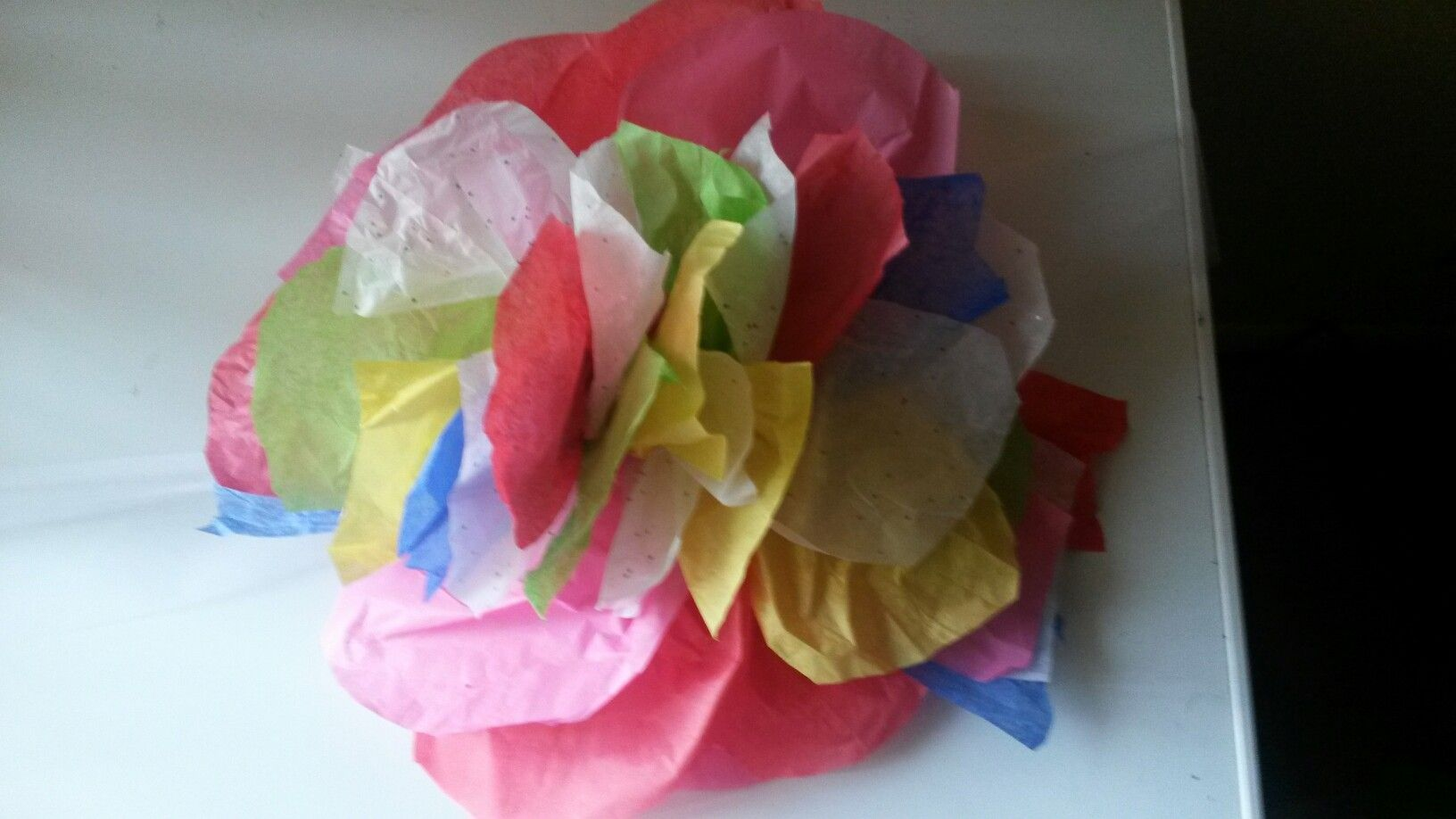 Tissue Paper Flower Amys Arts Pinterest Tissue Paper Flowers
