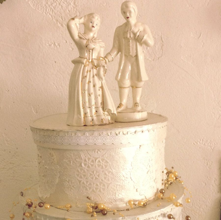 15+ Fine china wedding cake toppers inspirations