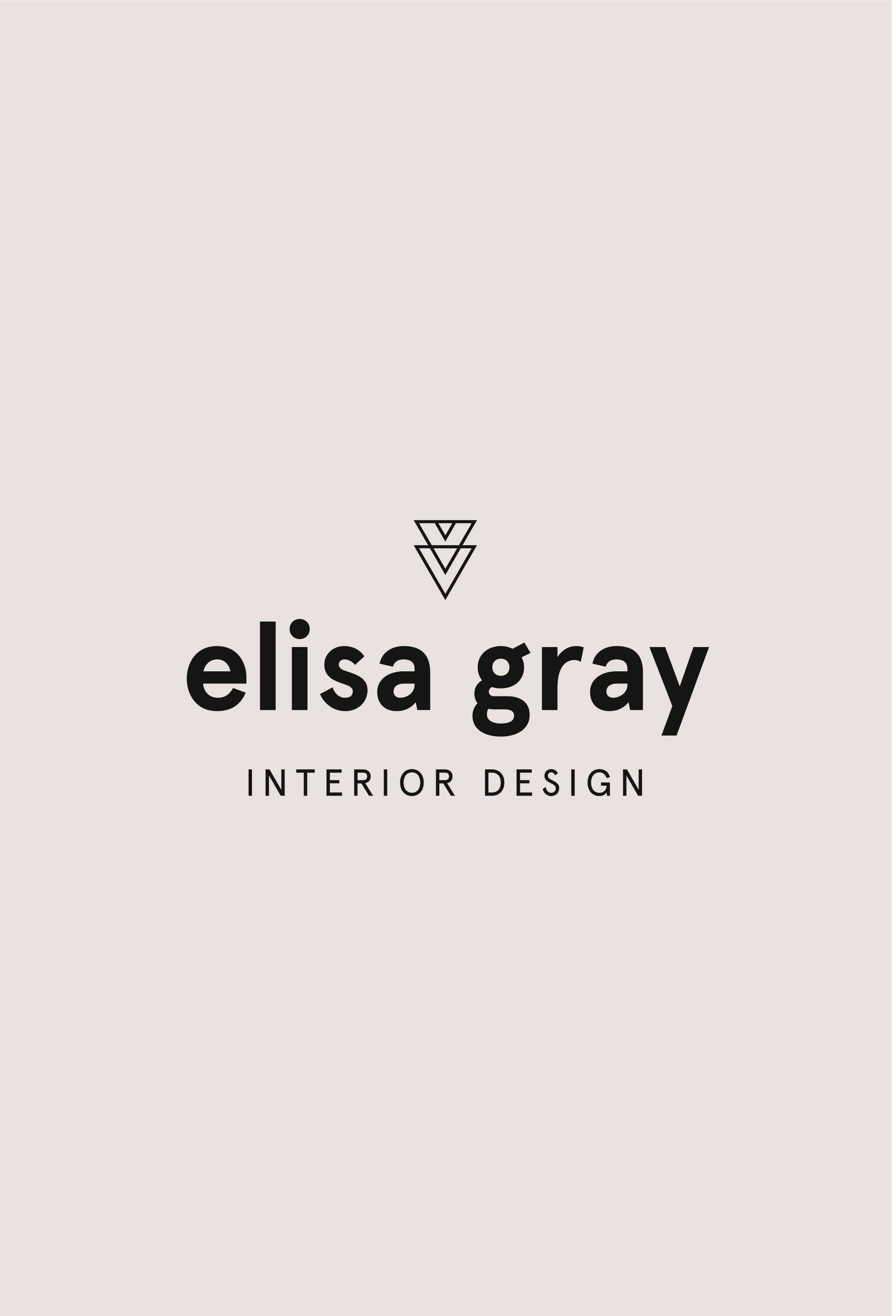 Interior Design Premade Logo Design, Modern Designer Logo, Sans Serif Logo  Template, Logo Branding For Creative Businesses, Branding Design.