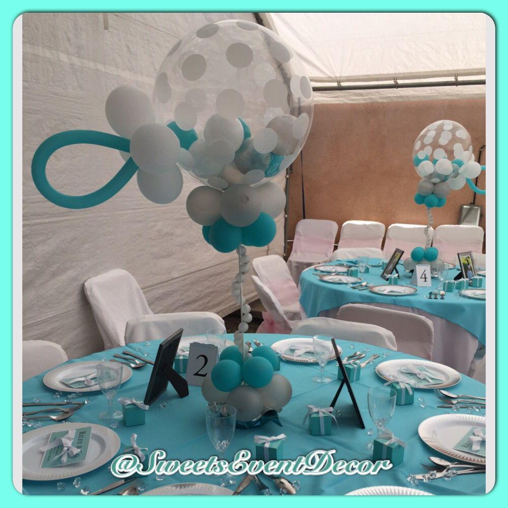 Party decorations miami baby shower balloon decorations - Baby Shower Baby Shower Balloon Decor Baby Tiffany