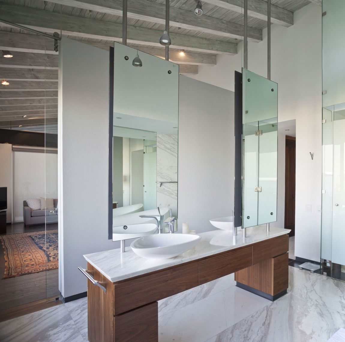 Imposing Luxury Bathroom Ides astonishing bathrooms design and bathroom design choosing the right tiles first Elegant Bathroom Imposing Modern Residence Inspiring Openness Casa Ro Hondo