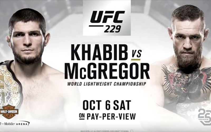 Early Betting Odds For Conor Mcgregor Vs Khabib Nurmagomedov Ufc Ufc Fight Night Ufc Conor Mcgregor