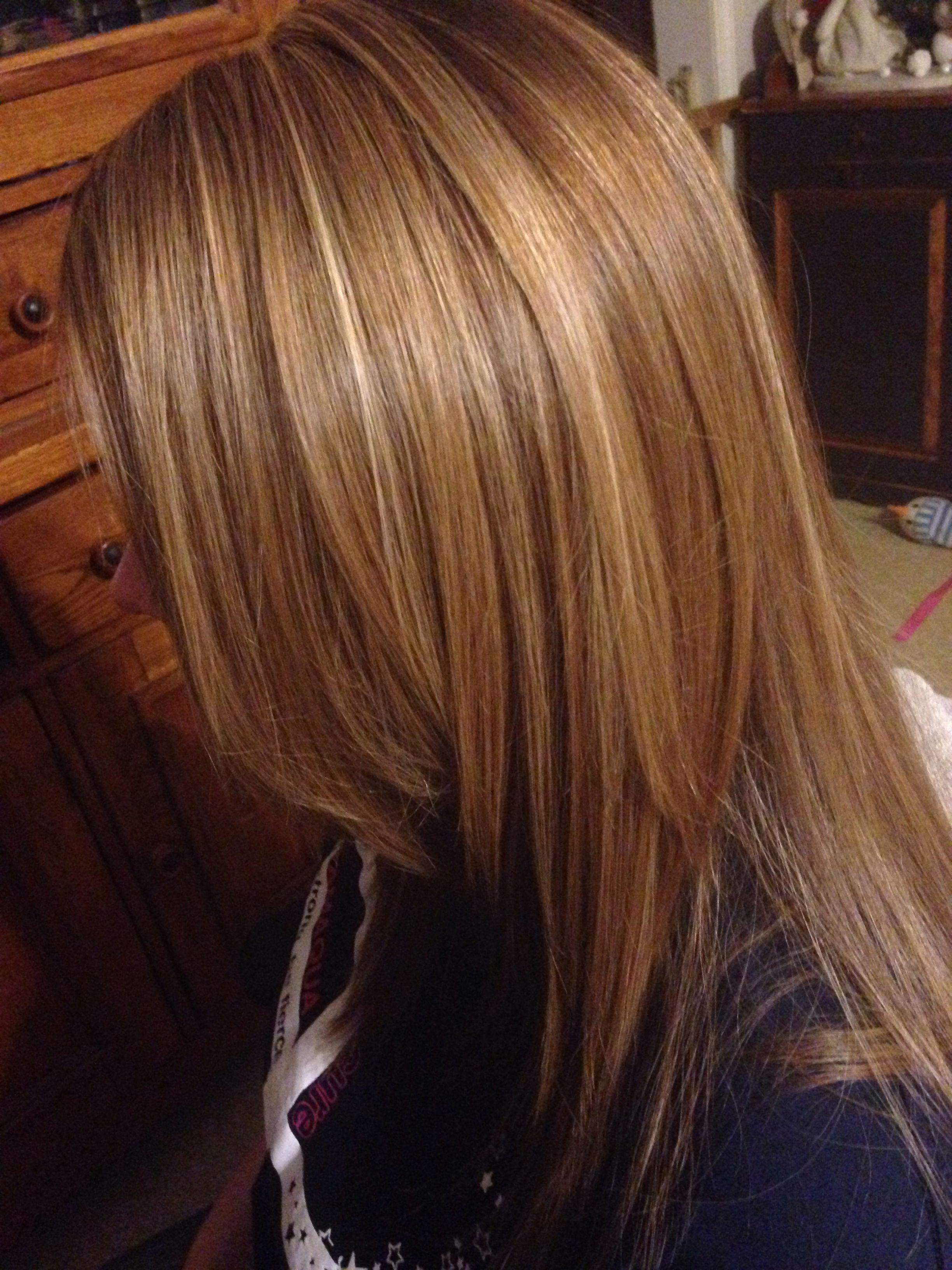 3 Color Hair Foil Highlights Pinterest Colors Hair