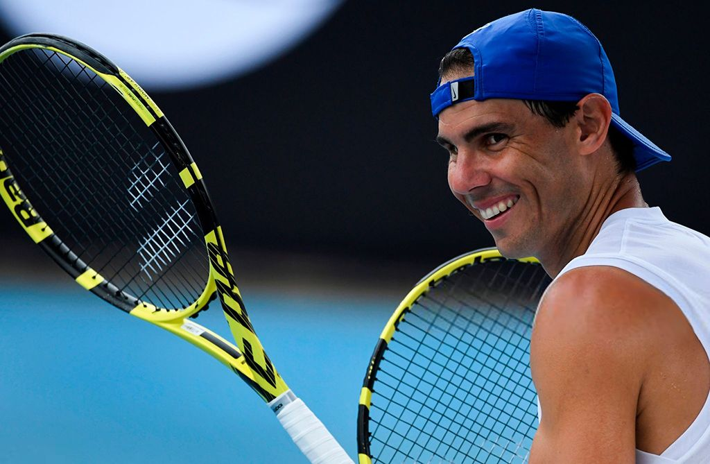 Atp Cup 2020 Thursday Practice Photos Last Night Rafael Nadal And His Teammates Arrived To Sydney Where They Will Face Te In 2020 World Tv Sporting Live Tennis World