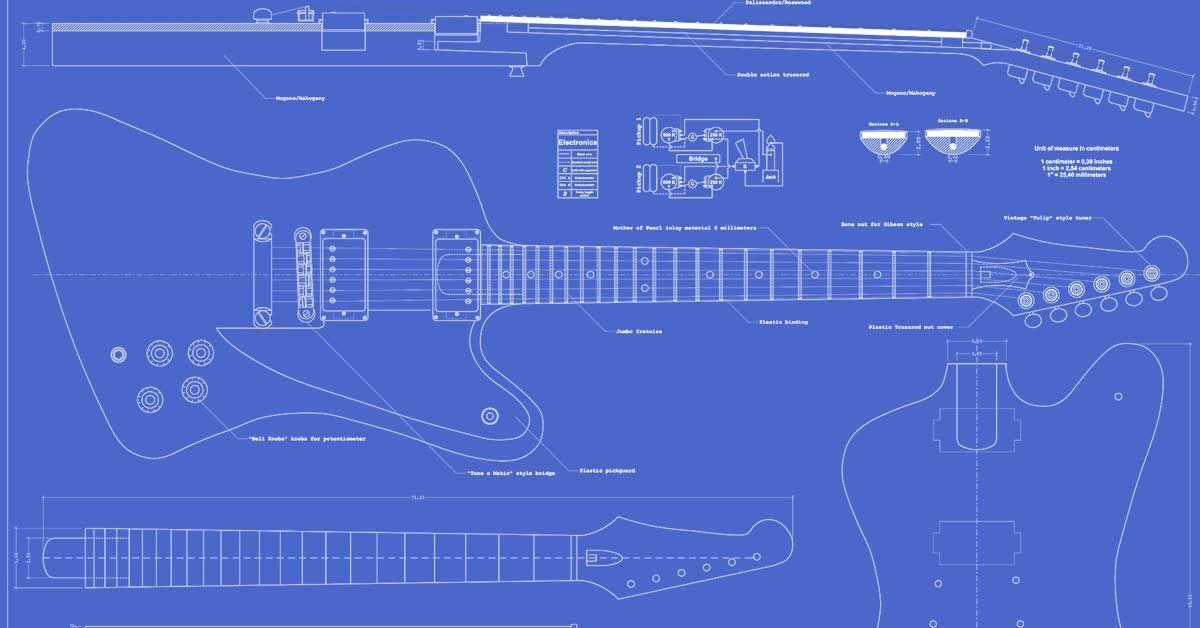 Swell Gibson Firebird Studio Guitar Templates Guitar Templates Gibson Wiring 101 Capemaxxcnl