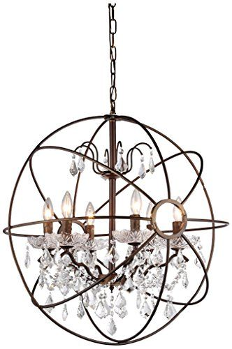 Whse Of Tiffany Rl8049 24ab Edwards Crystal Sphere Chan Https