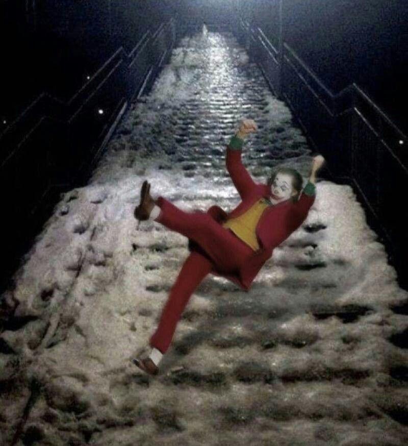Winter is coming! Joker meme, Joker photos, Joker