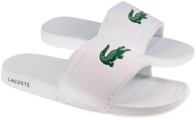 a399299f30 Lacoste - Unisex Fraisier Slide - White | Nisha | Lacoste shoes ...