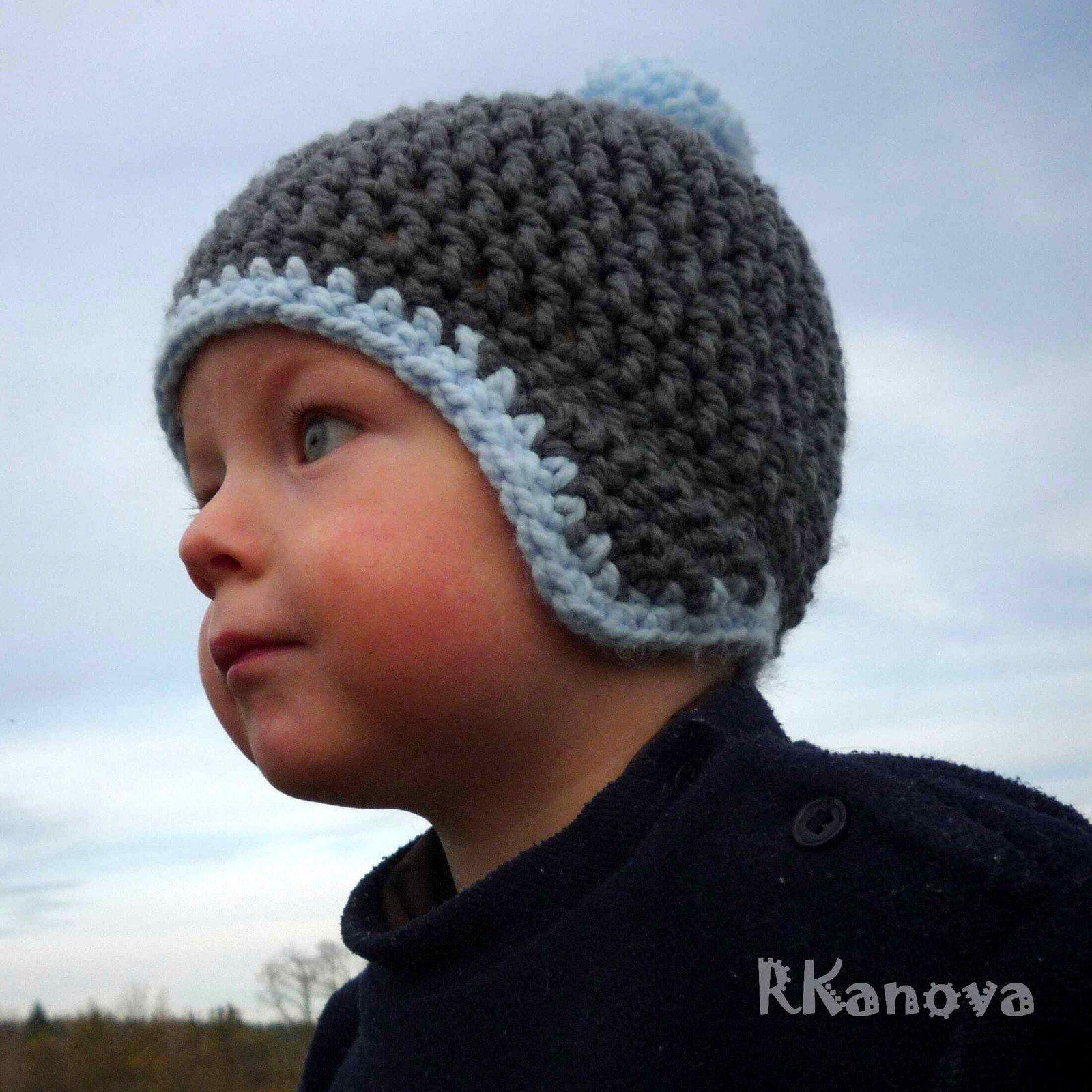 NÁVOD - Čepice - Dětský kulíšek Návod na háčkovanou čepici. Jednoduchý a  pečlivě rozepsaný. f63ee3c08e