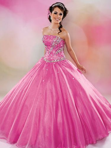 Pink Quinceañera Dresses! | Pink quinceanera dresses, Quince ...
