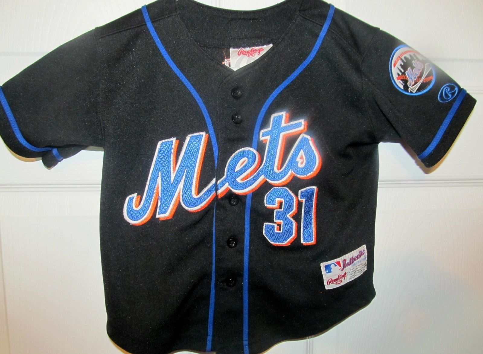 cheap for discount 60393 00683 Mike Piazza , New York Mets Authentic jersey , Toddler 3T ...