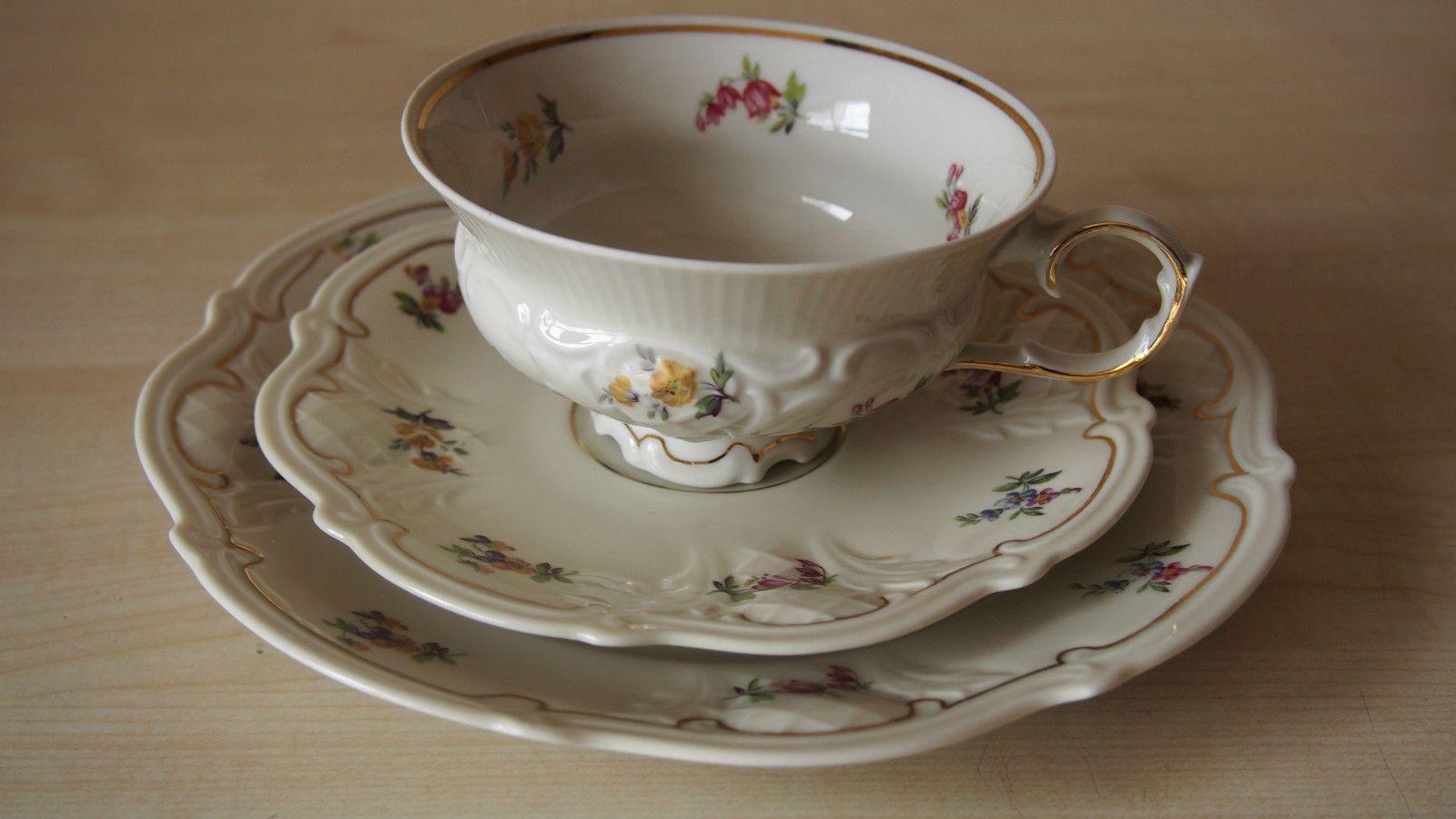 sehr sch ne alte sammeltasse sammelgedeck reichenbach porzellan sammelgedecke teacup trios. Black Bedroom Furniture Sets. Home Design Ideas