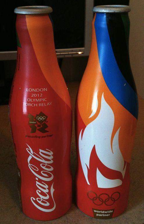 Coca-Cola Unveils Limited-Edition Bottle Designs For London #Olympics 2012 - #sponsorship, DesignTAXI.com