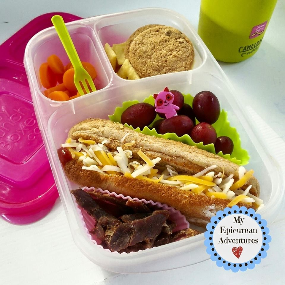 How to pack a hot dog for lunch with easylunchboxes easy lunch my epicurean adventures lunch box fun week lunch box ideas school lunch ideas lunches forumfinder Gallery