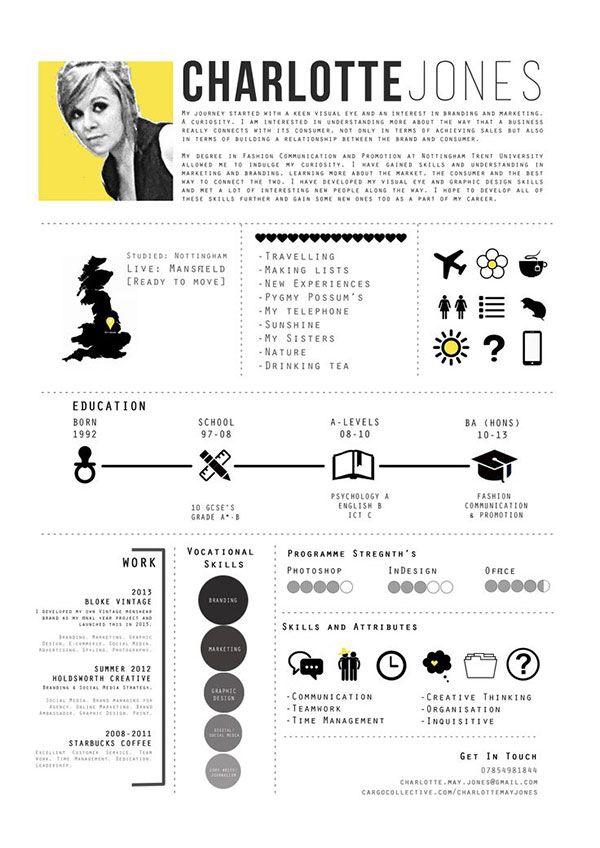 40 Creative Cv Resume Designs Inspiration 2014 Bashooka Modele De Cv Creatif Cv Inspiration Cv Creatif