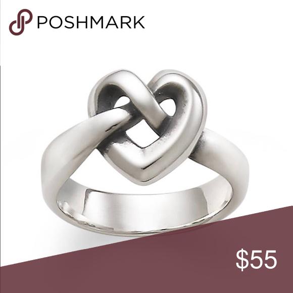 James Avery Heart Tie Ring My Posh Closet Heart Knot Rings Heart