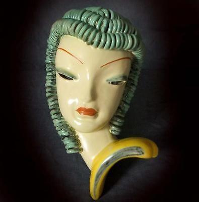 ITALIAN-ART-DECO-WALL-MASK | Wall Face Masks | Pinterest | Italian ...