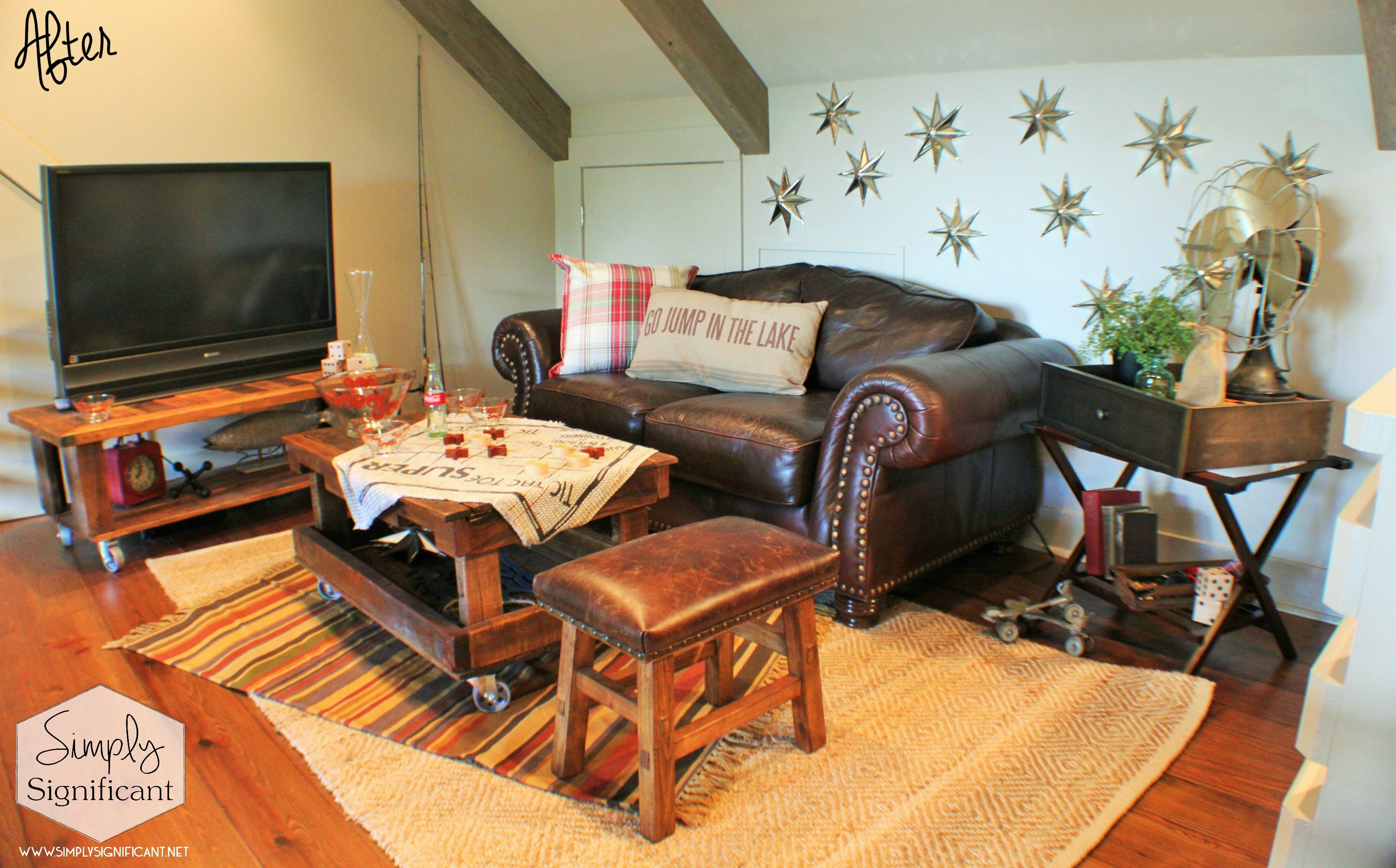 The Lakehouse Game Room Loft Simply Significant