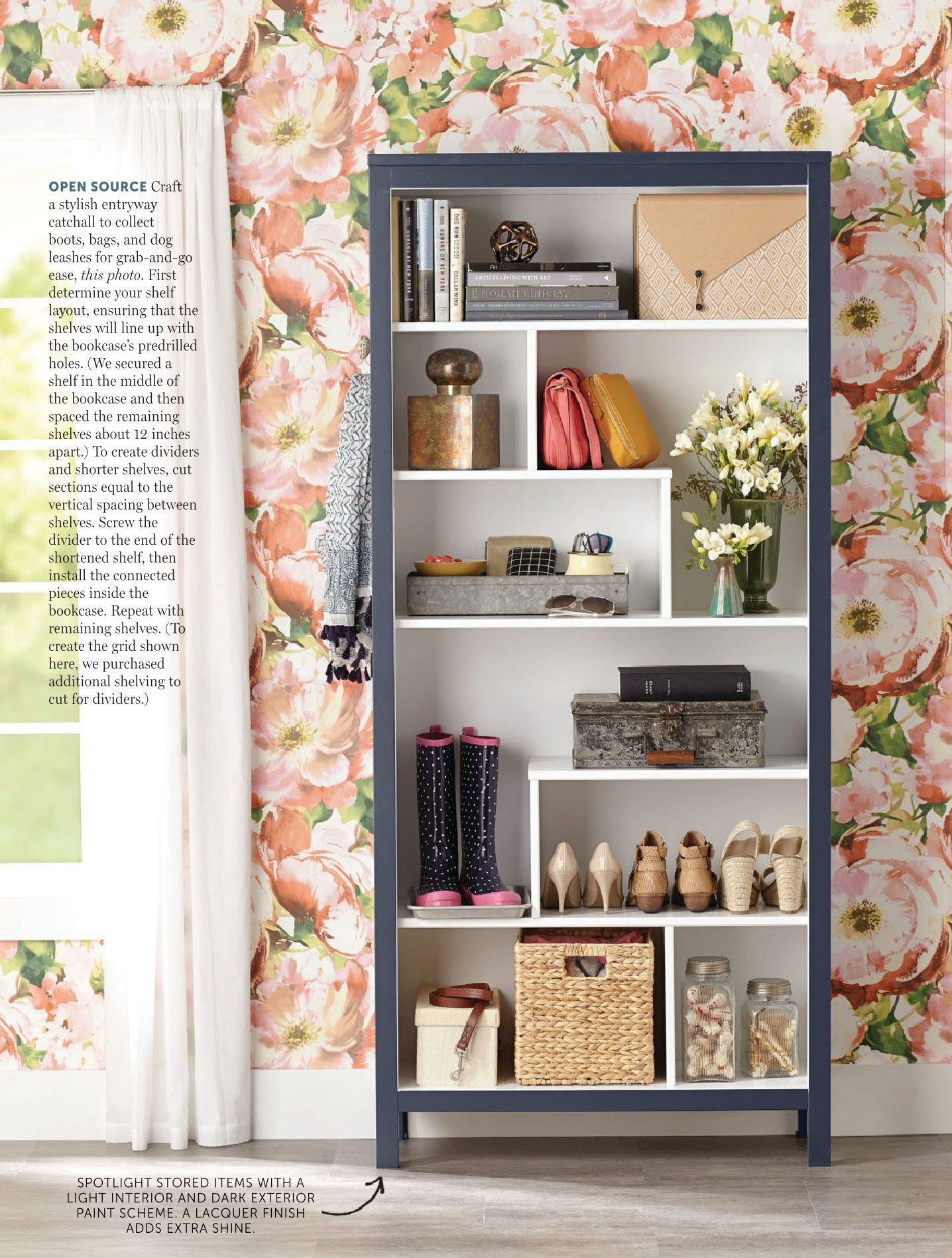 Pin By Virginia Parks On Walls Ceilings Painting Shelves Home Decor Do It Yourself Magazine